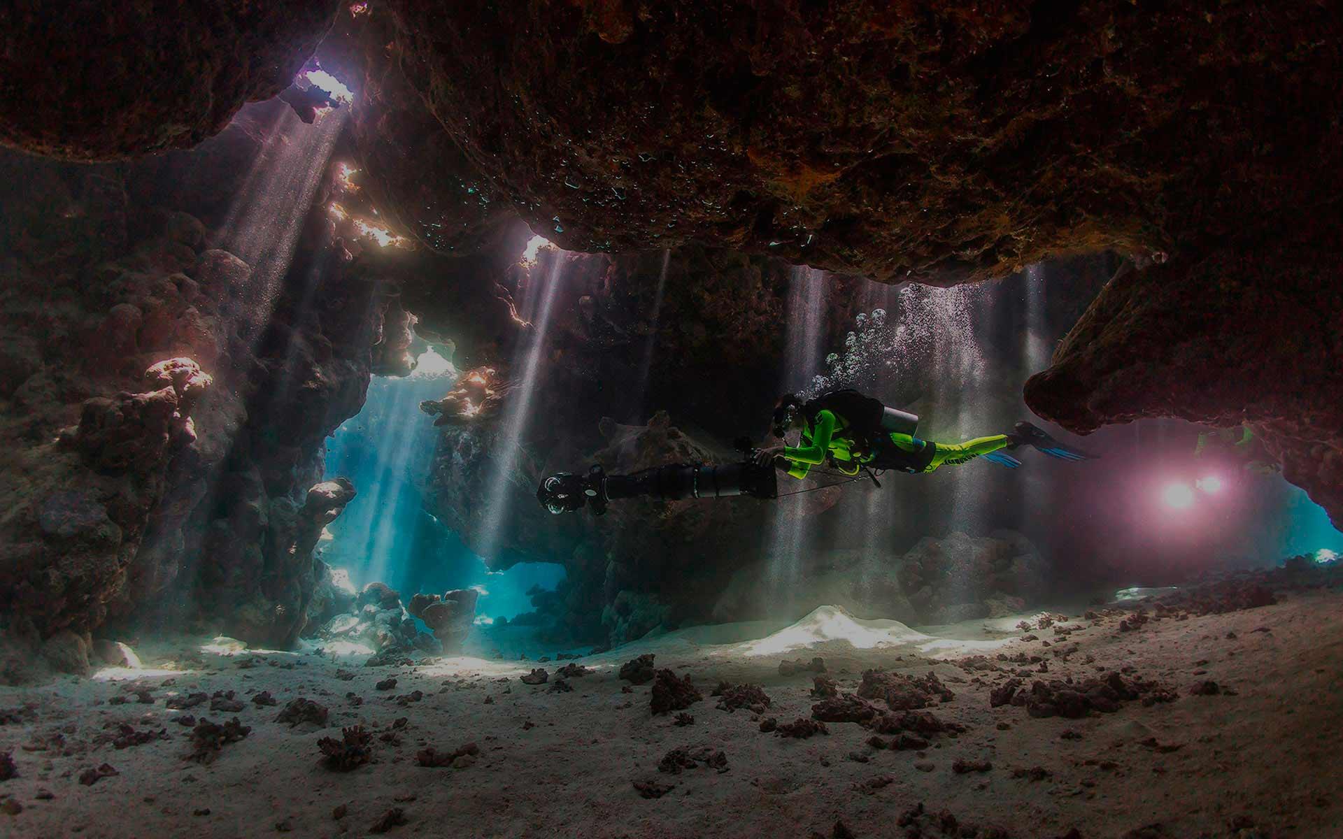 Planifica tu viaje de buceo, conociendo previamente las inmersiones